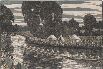 Boat Race greetings card